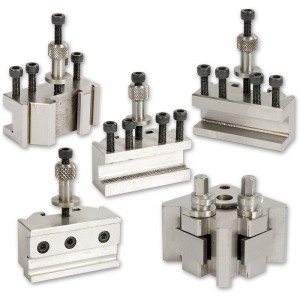 Quick Change Lathe Tooling Set 4 Piece