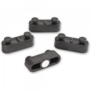 Axminster Panel Storage System Magnetic Clips (Pkt 4)