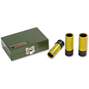 Proxxon 3 Piece Impact Socket Set