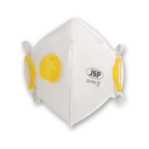 JSP Vertical Fold Flat Valved Respirators