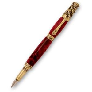 Victorian Antique Brass Gold Fountain Pen Kit