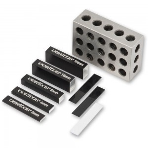 Veritas 9 Piece Set-Up Blocks (Metric)