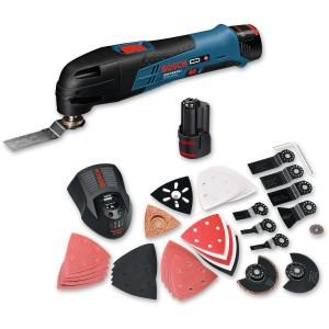Bosch GOP 10.8 V-LI Cordless Multi-Tool 10.8V (2.5Ah) + 36 Accessories