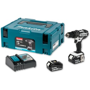 Makita DHP482RFWJ Combi Drill Kit 18V (3.0Ah)