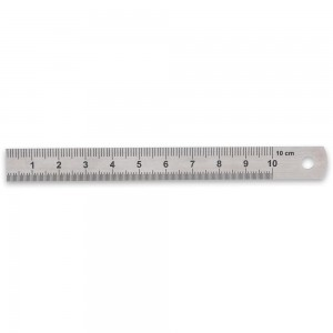 Axminster Precision 100mm Rule