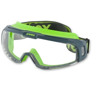uvex u-sonic Slim Clear Safety Goggle