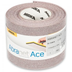 Mirka Abranet Ace Abrasive Roll 115mm x 10m