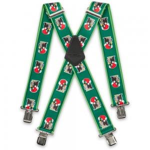 Green Christmas Penguin Braces