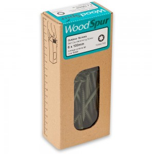 WoodSpur Outdoor Screws 6 x 100mm (Qty 50)