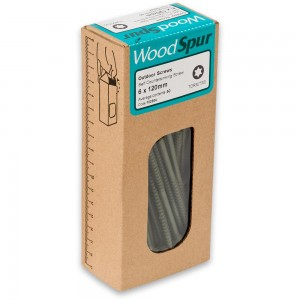 WoodSpur Outdoor Screws 6 x 120mm (Qty 50)
