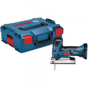 Bosch GST 18 V-LI S Body Grip Jigsaw 18V In L-BOXX (Body Only)