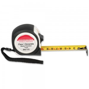 Axminster Master Precision Tape 5m/16ft