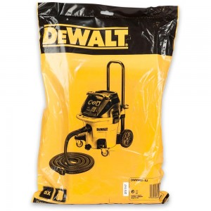 DeWALT Paper Filter Bags for DWV902M (Pkt 5)