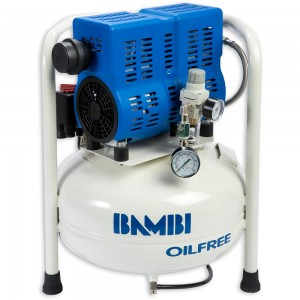 Bambi PT24 Oil Free Low Noise Compressor