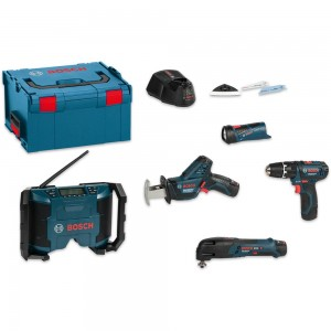 Bosch 10.8V 5 Piece Kit 10.8/12V (2.0Ah)