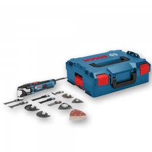 Bosch GOP 55-36  Multi-Cutter in L-Boxx + 25 Accessories