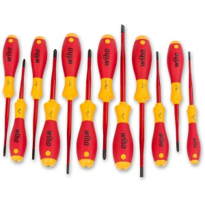 Wiha 12 Piece VDE Screwdriver Set