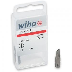 Wiha 2 Piece Slotted Bit Sets