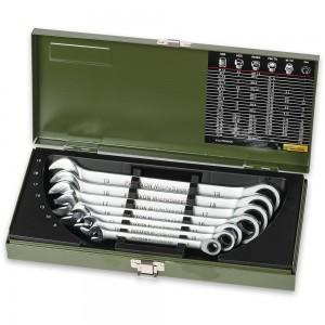 Proxxon Industrial 7 Piece MicroSpeeder Ring Spanner Set