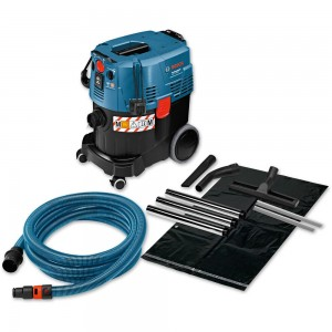Bosch GAS 35 M AFC + Wet & Dry Extractor 110V