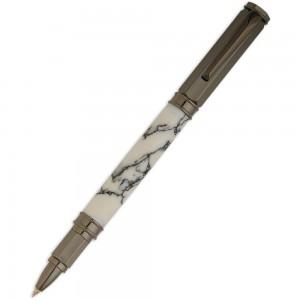 Magnetic Vertex Gunmetal Rollerball Pen Kit
