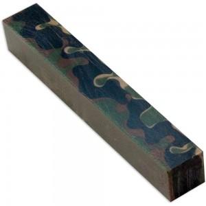 Woodland Camo Acrylic Pen Blank