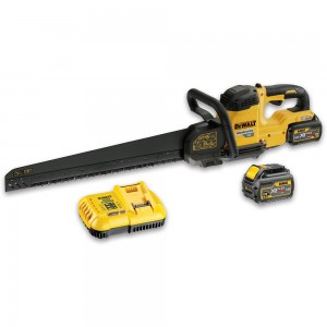 DeWALT DCS397T2 XR FLEXVOLT Alligator Saw 2 x 54V Batteries