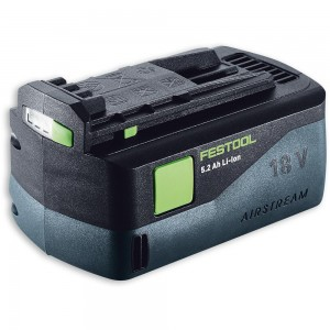 Festool Li-Ion AIRSTREAM Battery 18V (5.2Ah)