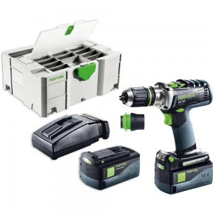 Festool DRC 18/4 Li 5.2 PLUS Quadrill AIRSTREAM 18V