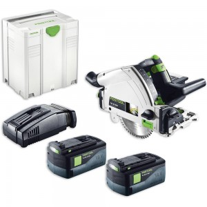 Festool TSC 55 Li 5.2 REB-PLUS Plunge Saw AIRSTREAM 18V