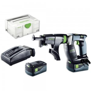 Festool DWC 18-2500 Li 5.2 PLUS Drywall Screwdriver AIRSTREAM 18V