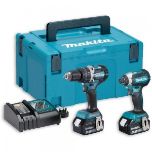Makita DLX2180TJ Brushless Combi & Impact Kit 18V (5.0Ah)