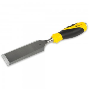 Axminster Rider Bevel Edge Chisels, Soft-Grip Handles