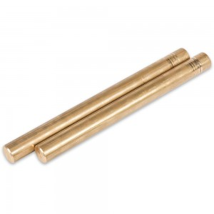 Axminster Brass Round Bar 2 Pack
