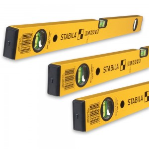 Stabila 70-2 Level Pack 60cm + 120cm + 180cm