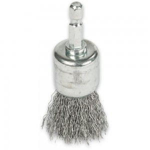 Wire Pencil Brush with Hex Shank