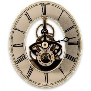 Craftprokits 80 x 94mm Gold Skeleton Clock