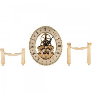 Craftprokits 105 x 125mm Gold Skeleton Clock