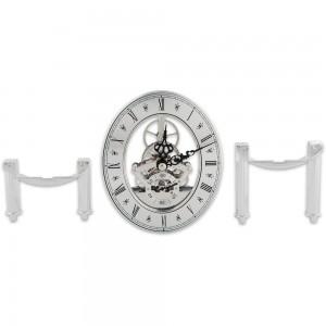 Craftprokits 105 x 125mm Silver Skeleton Clock