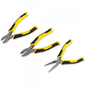 Stanley 3 Piece ControlGrip Plier Set