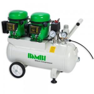 Bambi BB24D Silent Compressor & Wheel Kit