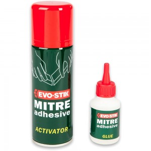 EVO-STIK Rapid Mitre Fix Adhesive (2 Part)