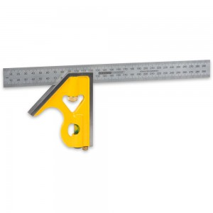 Axminster Workshop Combination Square Metric 300mm