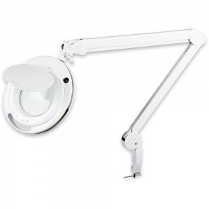 LightCraft LED Professional Magnifier Lamp with Multiple Light Setting
