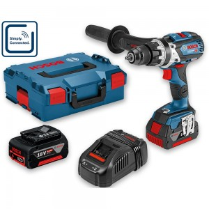 Bosch GSB 18V-85 C Connect Brushless Combi Drill 18V (2 x 5.0Ah)