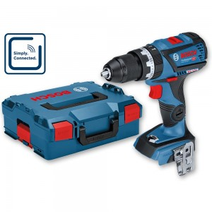Bosch GSB 18V-60 C Brushless Combi Drill in L-Boxx (Body Only)