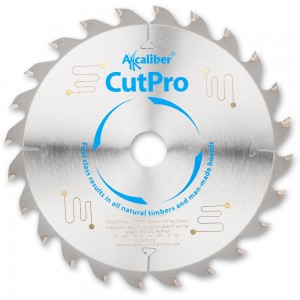 Axcaliber CutPro 160mm Thin Kerf TCT Saw Blades