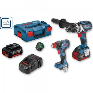 Bosch GSB 18V-110 C Combi & GDX 18V-200 C Professional 18V (5.0Ah)