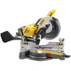 DeWALT DHS780T2 XR FLEXVOLT 305mm Mitre Saw 2 x 54V Batteries