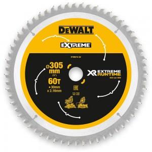 DeWALT Extreme  Runtime Circular Saw Blade 305mm x 60T